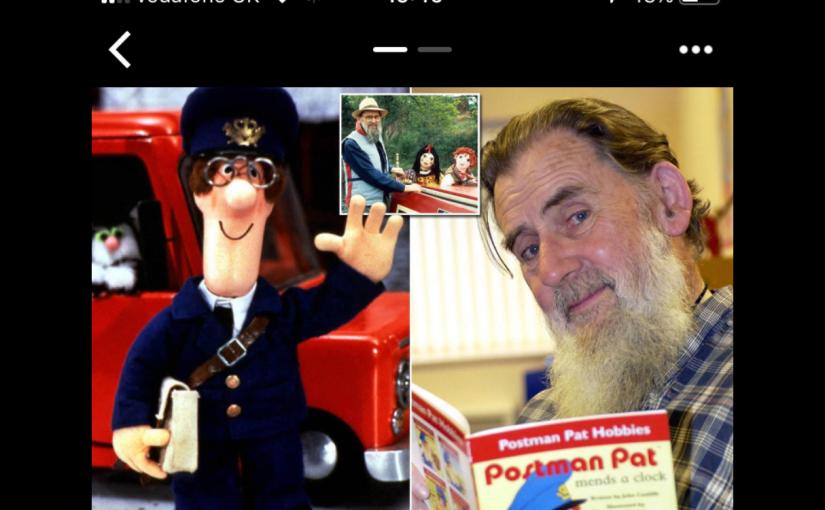Septmeber 28th – Poor Postman Pat and Rosie andJim